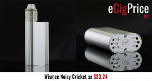 Wismec Noisy Cricket за $33.24
